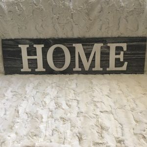 """HOME Decor Wall Sign Gray Shiplap Look 8""""x31"""" NEW"""